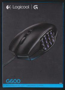 Logicool G600tの箱01