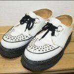 白い靴の汚れ落とし