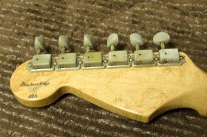 クリーニング前のギター2