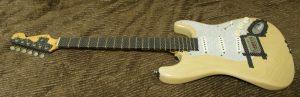 マスキングしたギター